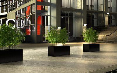 Kies uw betonnen bloembak Groot, groter, GROOTST